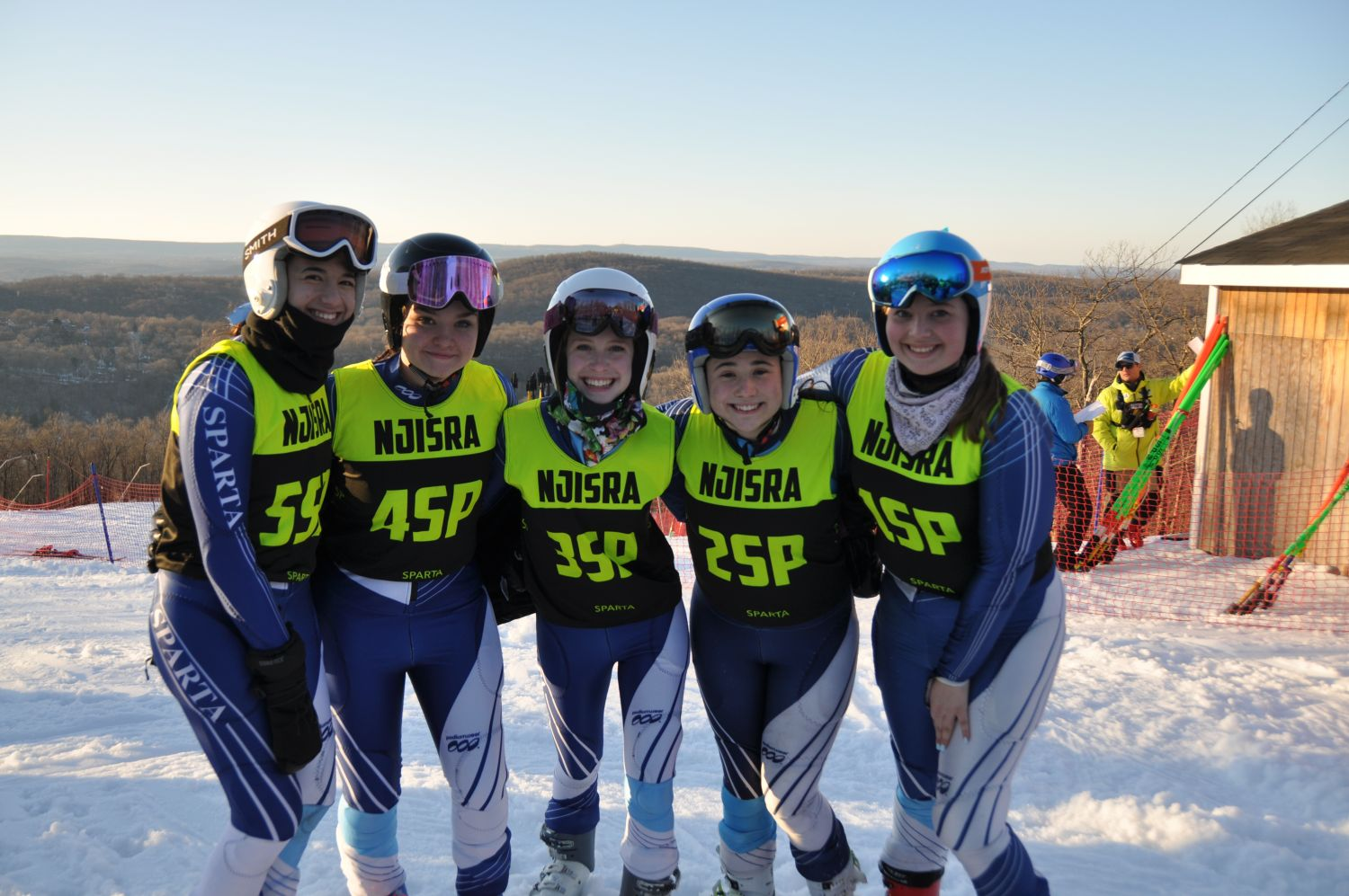 JV Girls Ski Team | JV Championships