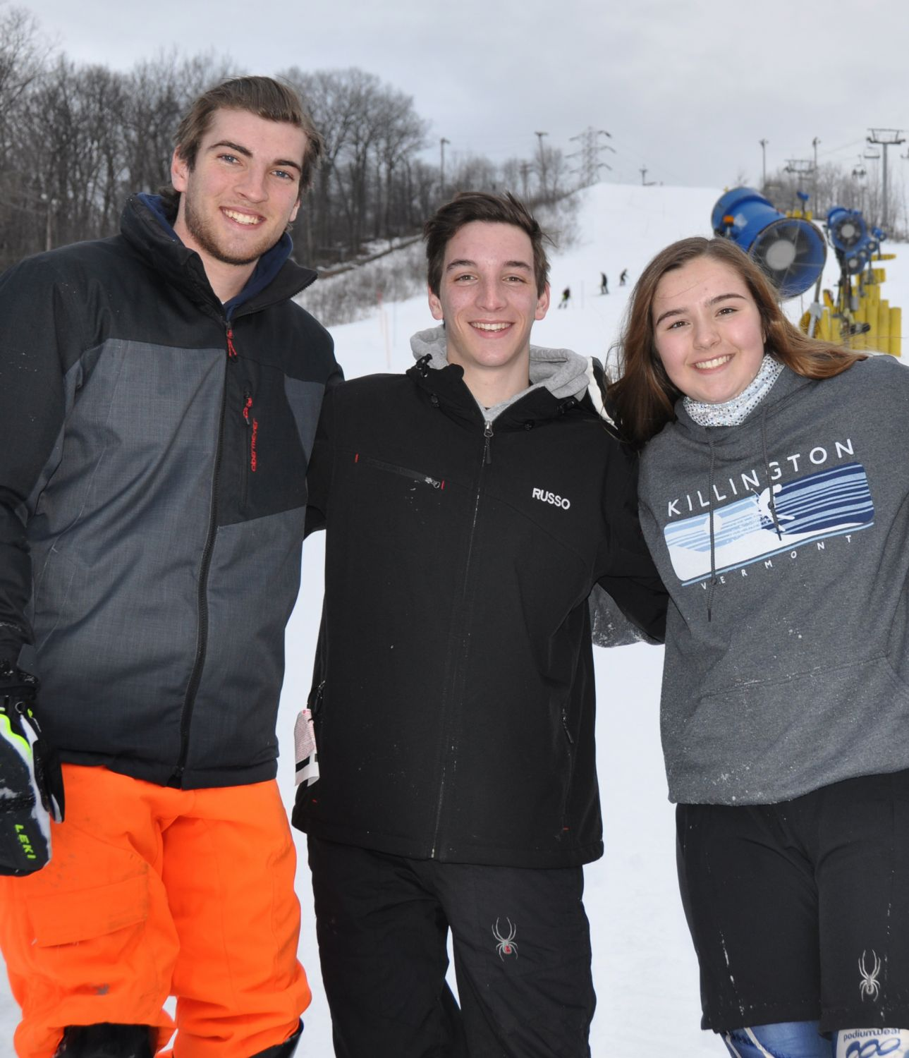 Sparta Ski Team Captains 2018/2019 Season
